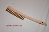 Brass hand brush