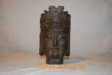 Buddha head with small cap